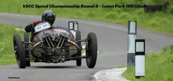 VSCC Speed Championship Round 8 - Loton Park Hill Climb