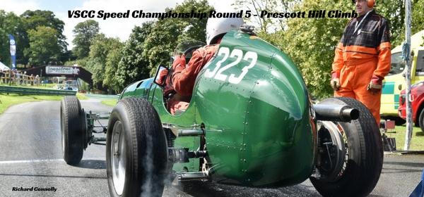 VSCC Speed Championship Round 5 - Prescott Hill Climb