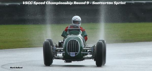 VSCC Speed Championship Round 9 - Snetterton Sprint