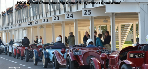 VSCC Speed Championship Round 6 - Sprint at Goodwood2