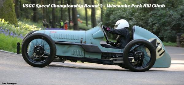 VSCC Speed Championship Round 2 - Wiscombe Park Hill Climb2