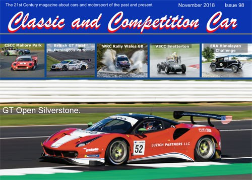 Latest Edition of Classic and Competition Car cover