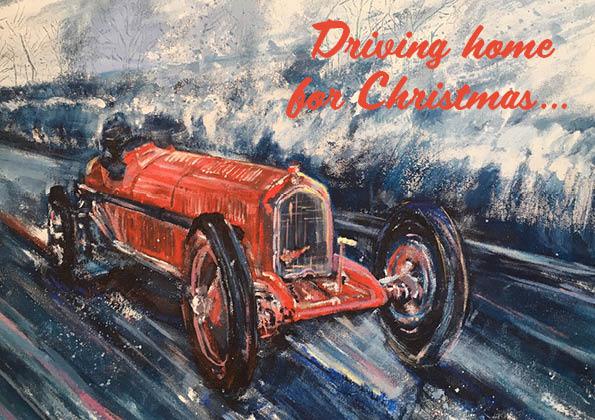 VSCC Christmas Cards -