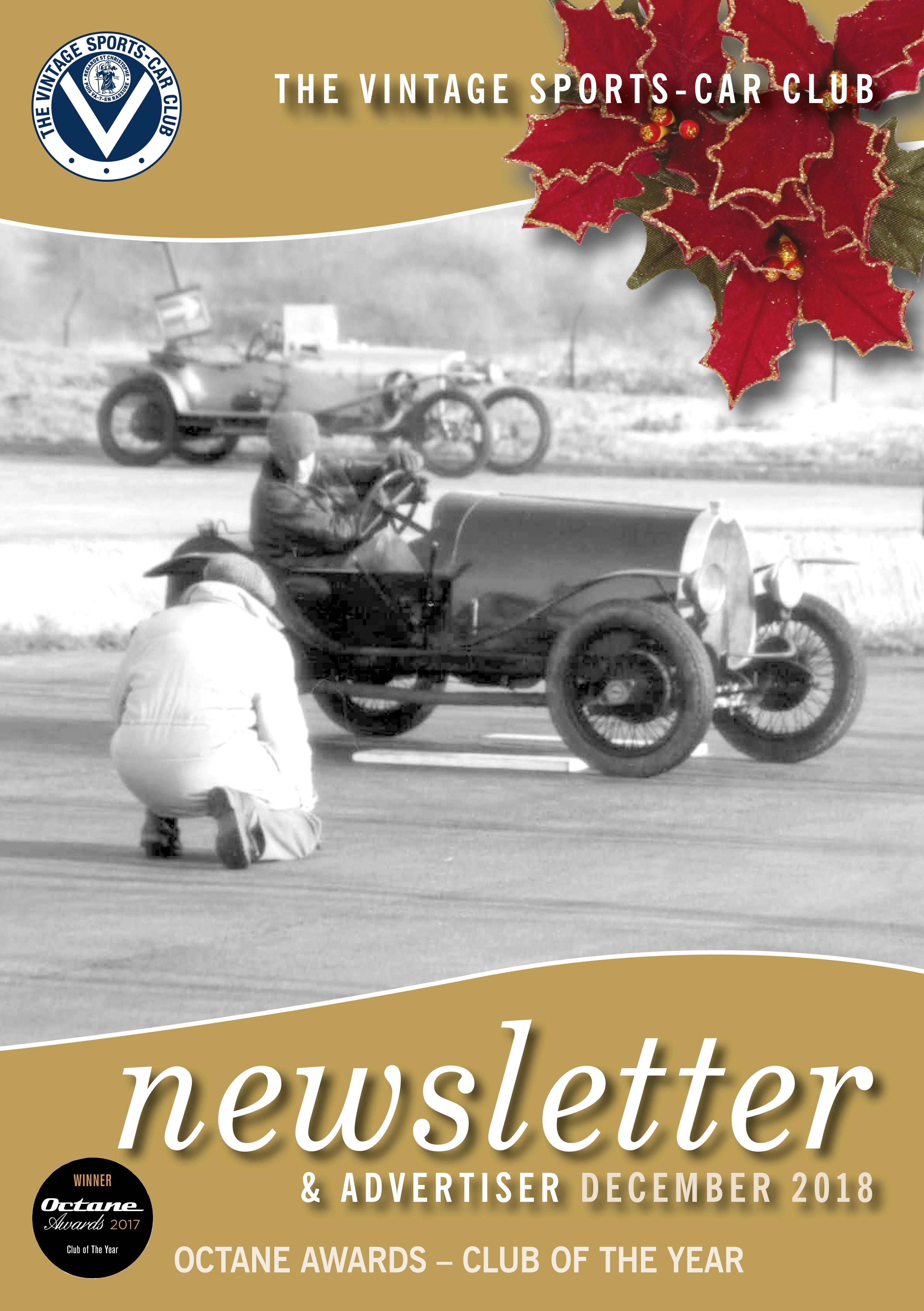 December Newsletter and Winter Bulletin  cover
