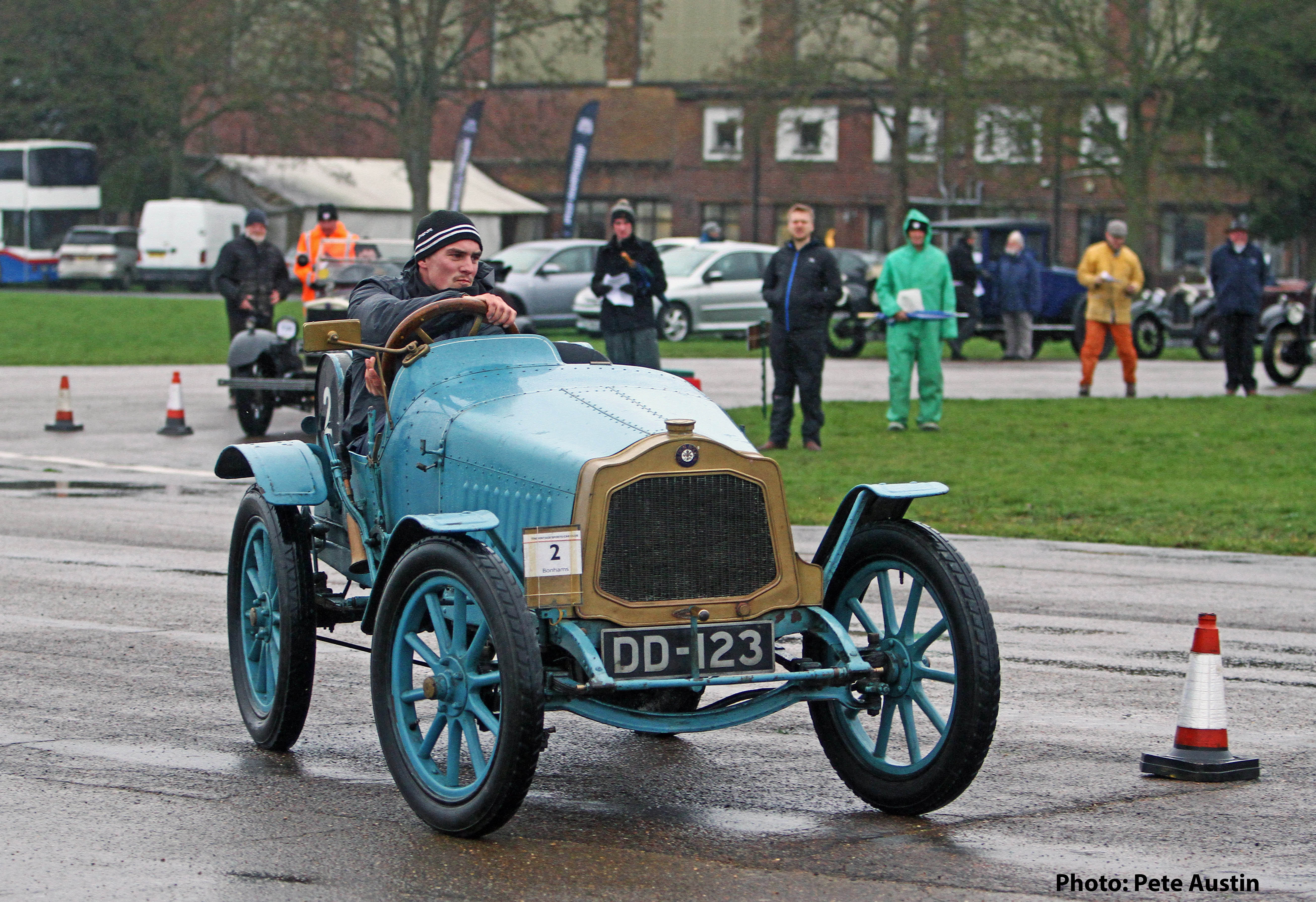 VSCC Winter Driving Test at Bicester Heritage - This Weekend! cover