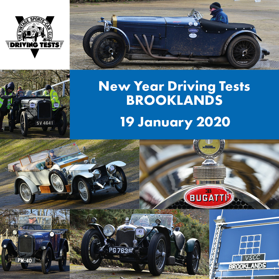 Entries open for Brooklands  Driving Tests   cover