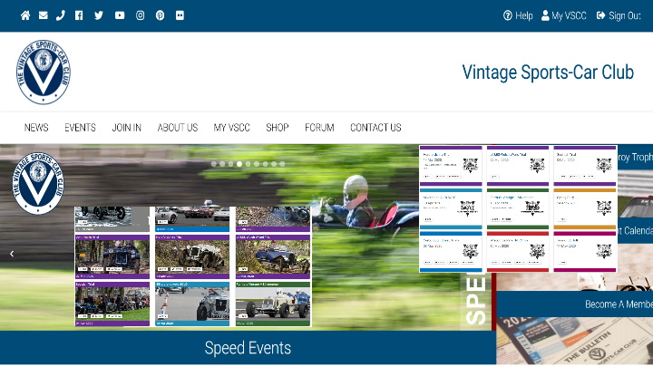 VSCC Website 2020 Launched cover