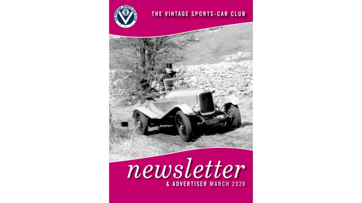 March Newsletter Now Available cover