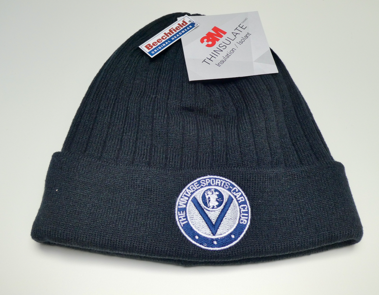 Beanie Hat - Traditional VSCC Logo cover