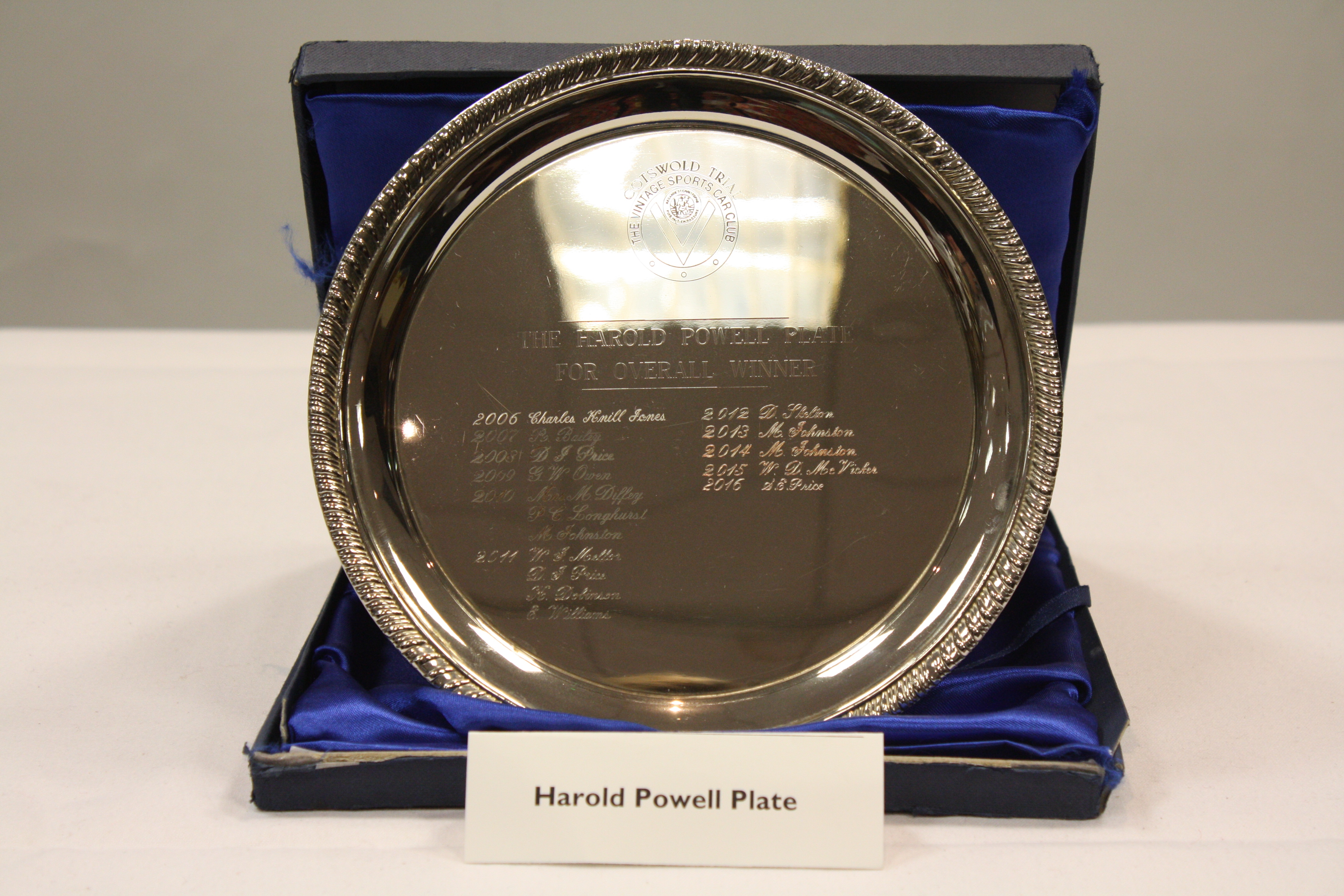 HAROLD POWELL CUP cover
