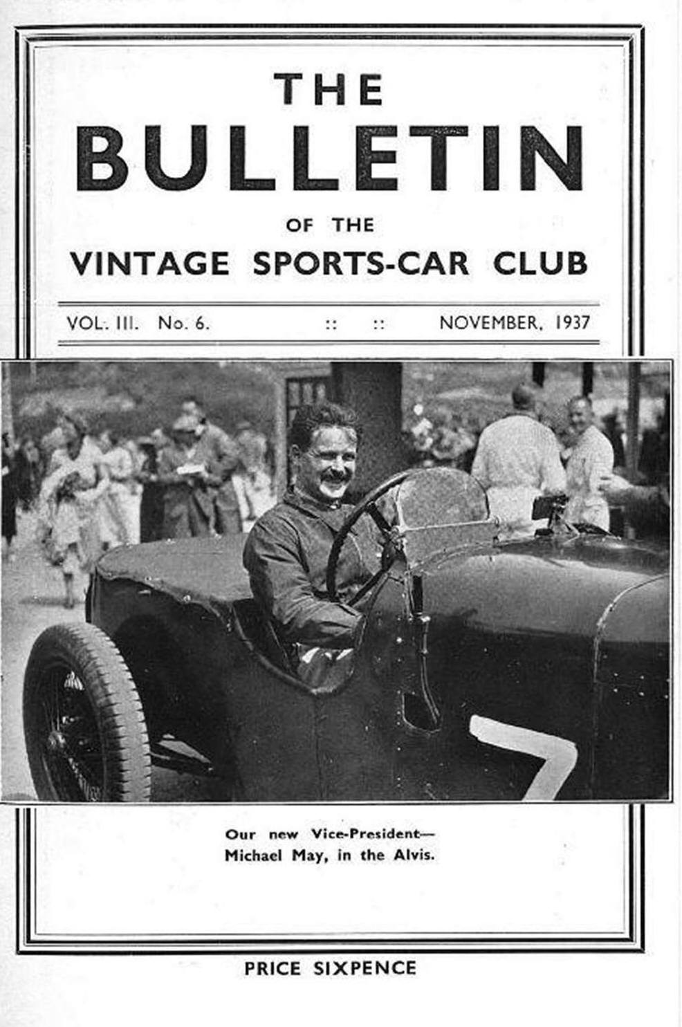 Croydon 05/09/1937.......    Winterslow Rally........    A Watch on the Winged Bentley cover