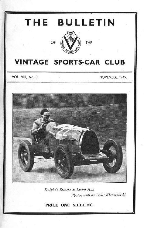 Vintage Prescott. Brighton Speed Trials.  Luton Hoo. Vintage Southport. cover