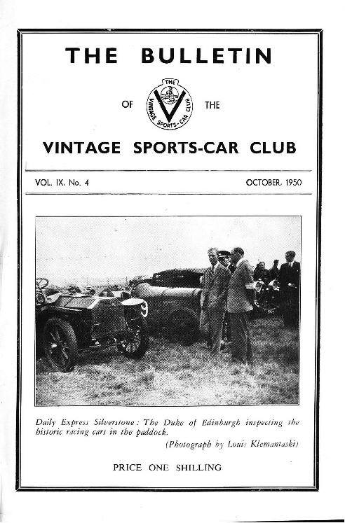 Historic Racing at Silverstone. Brighton Speed trials.  1914 Darracq Tourer Type V.  Prescott cover