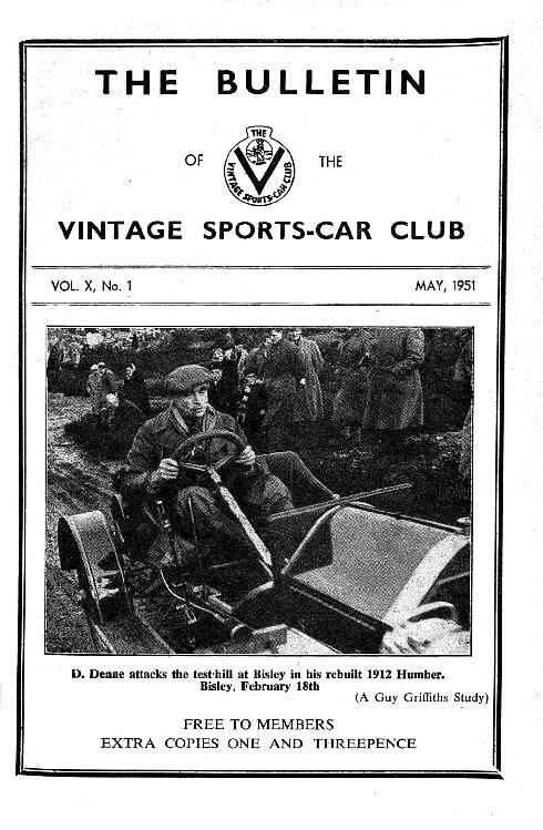 Measham.  1909 Semmering Mercedes.   Bisley.   Enter the Light Car. cover