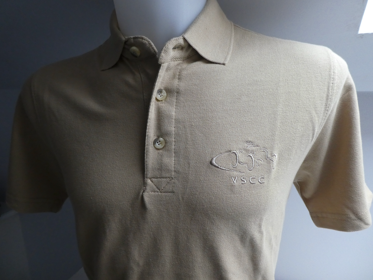 Polo Shirt - *Limited Edition*  Camel with Stylised Logo cover