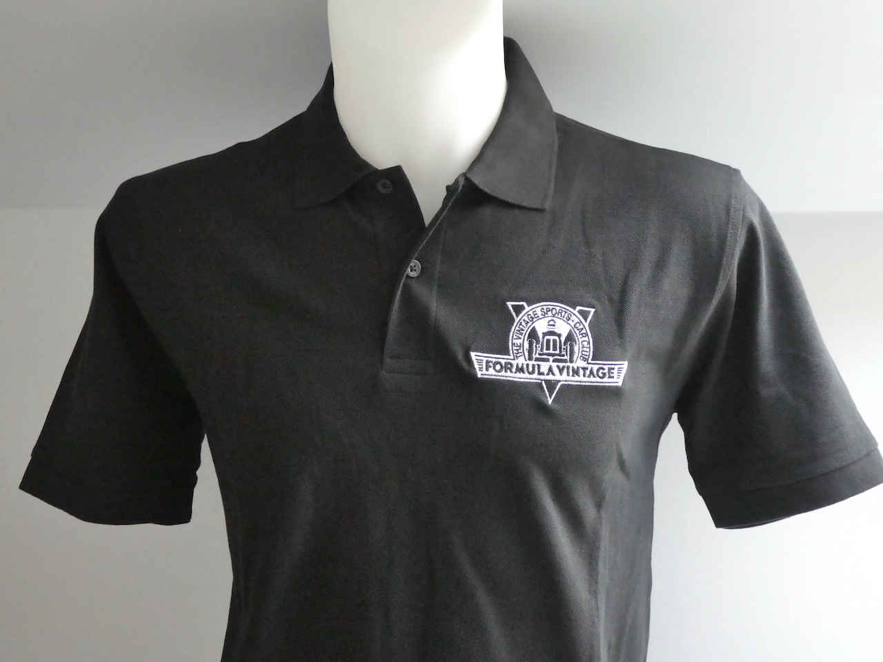 Polo Shirt - * Discontinued * Black Formula Vintage  cover