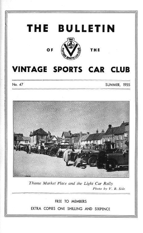 The VSCC 1934-1955, Oulton Park, Buxton Rally, Type 666 Funkwagen. cover