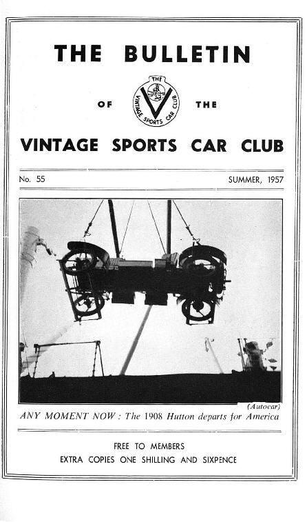 2nd. Anglo-American Vintage Rally, La Metallurgique, A Vintage Special in Canada, cover