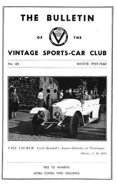 Activities of V.S.C.C. Australia, Motor Show 1959, Brighton 1959, Carsons