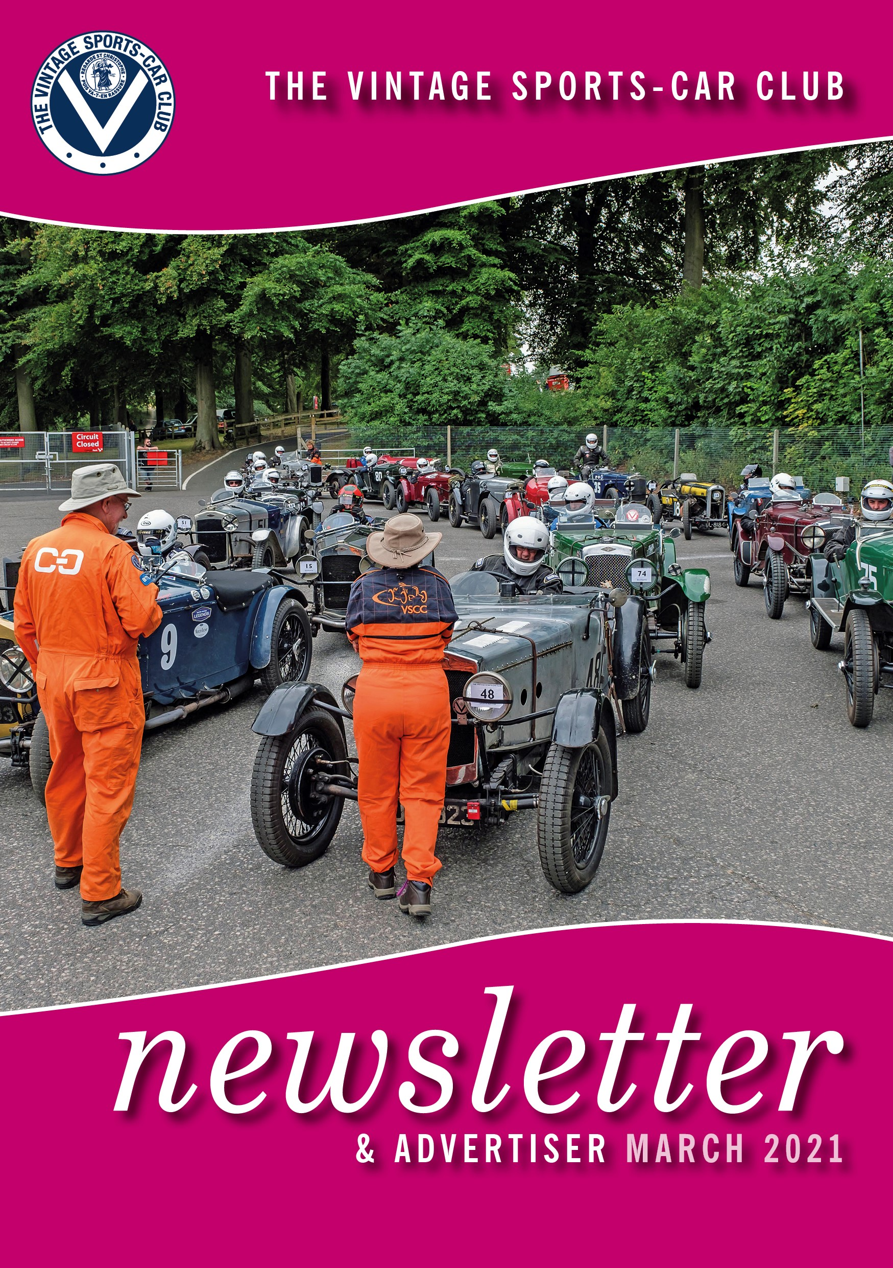 March 2021 Newsletter Now Available cover