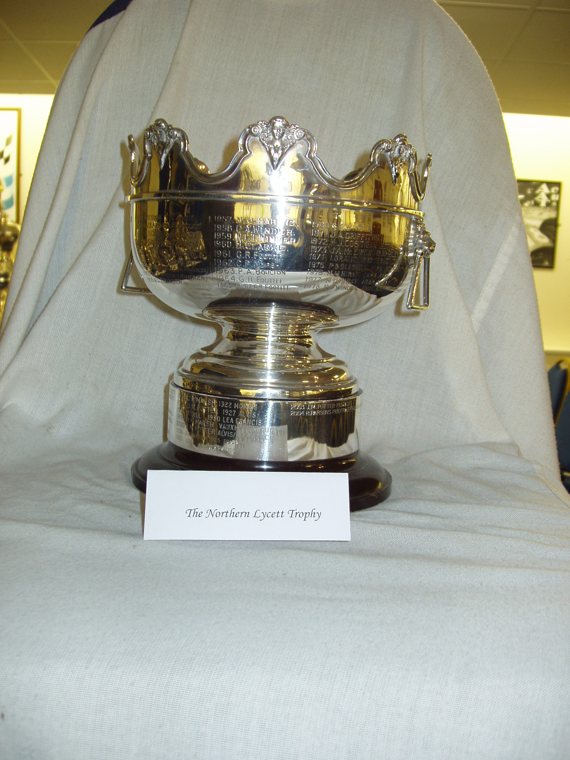 NORTHERN LYCETT TROPHY cover