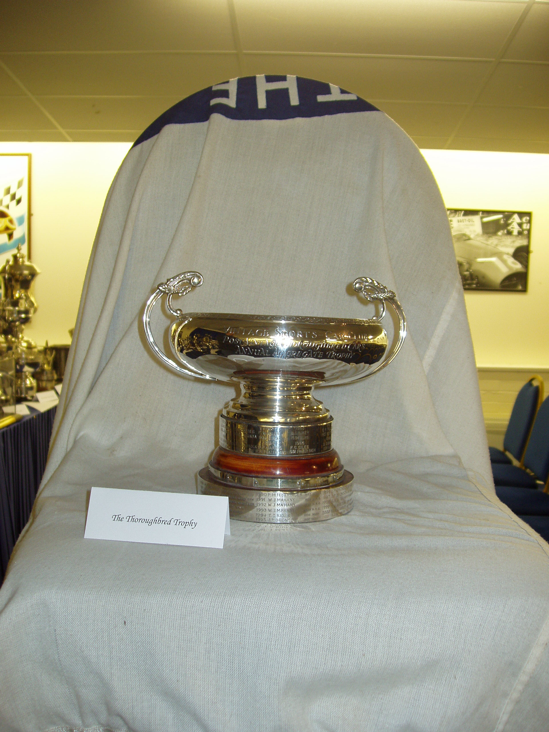 THOROUGHBRED TROPHY cover