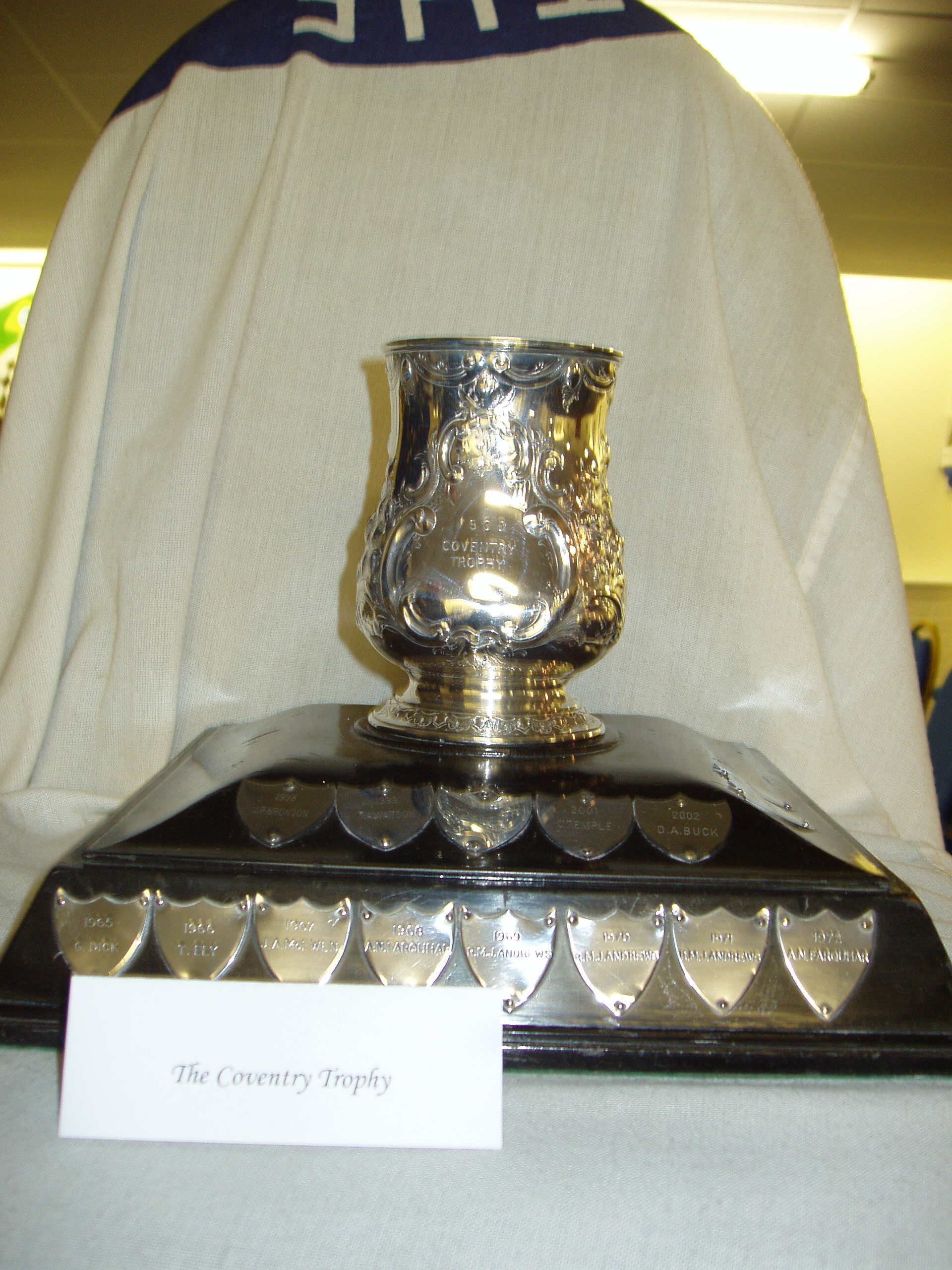 COVENTRY TROPHY cover