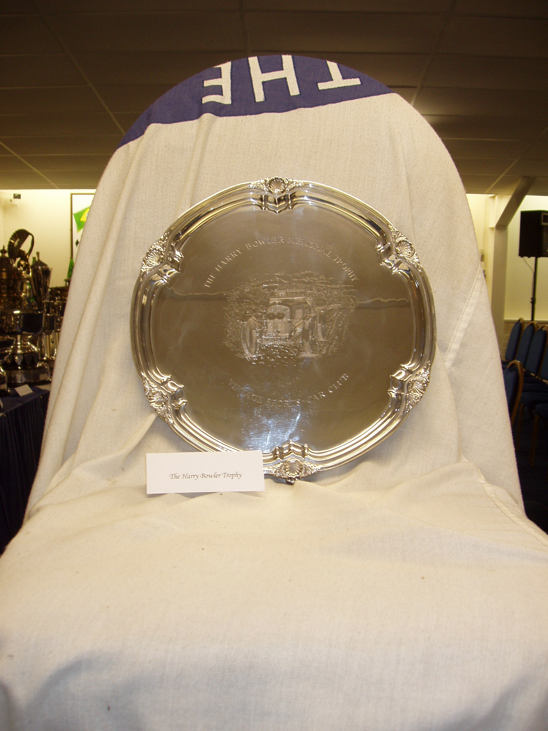 HARRY BOWLER MEMORIAL TROPHY cover