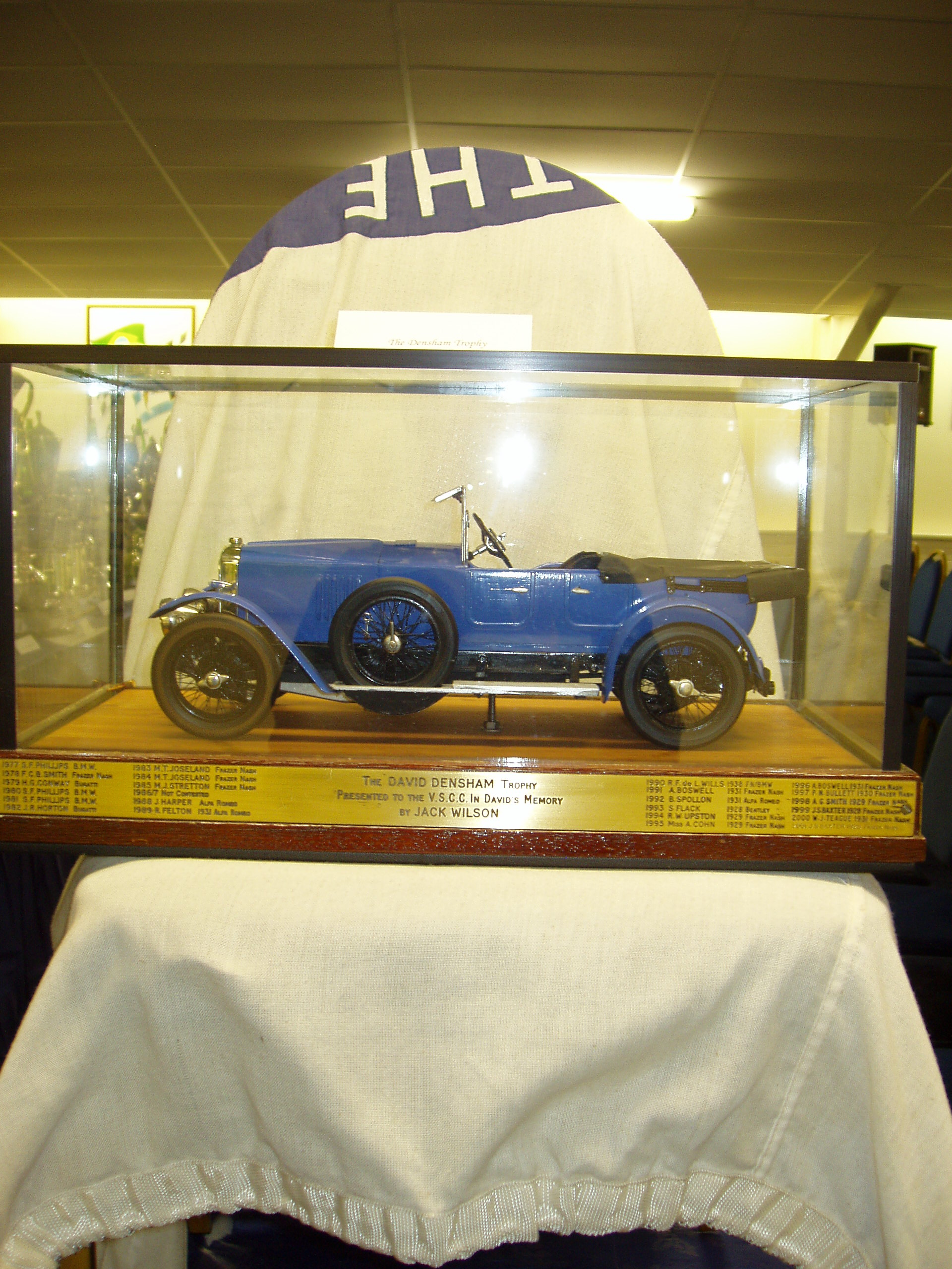 DENSHAM TROPHY cover
