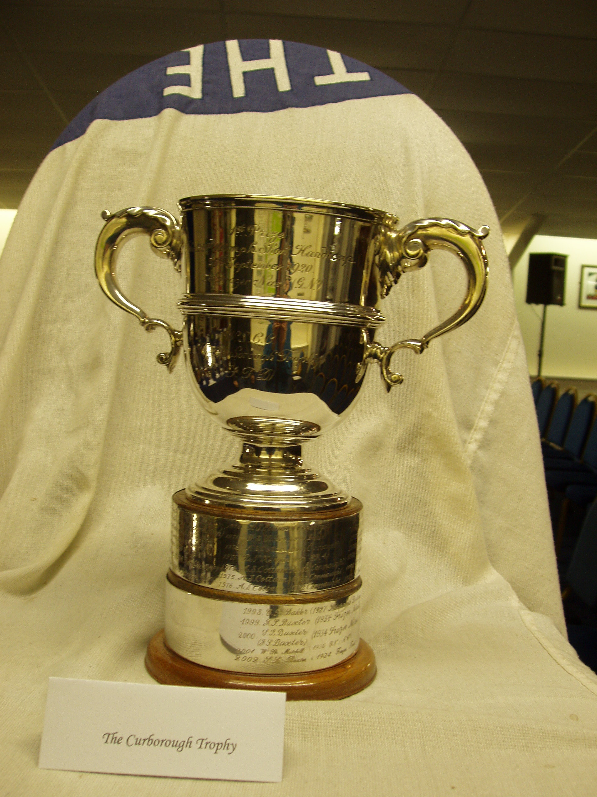 CURBOROUGH TROPHY cover