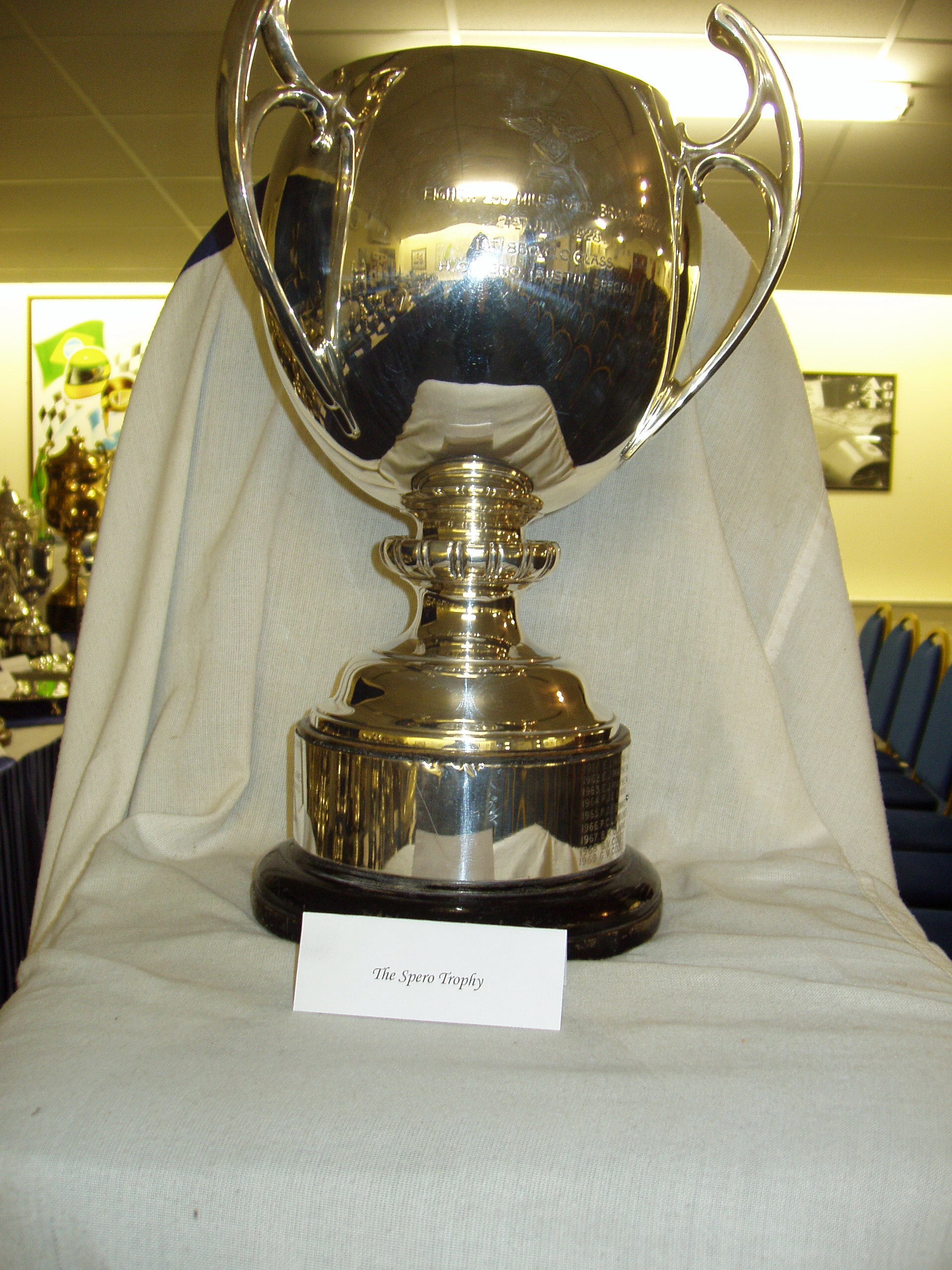 SPERO TROPHY cover