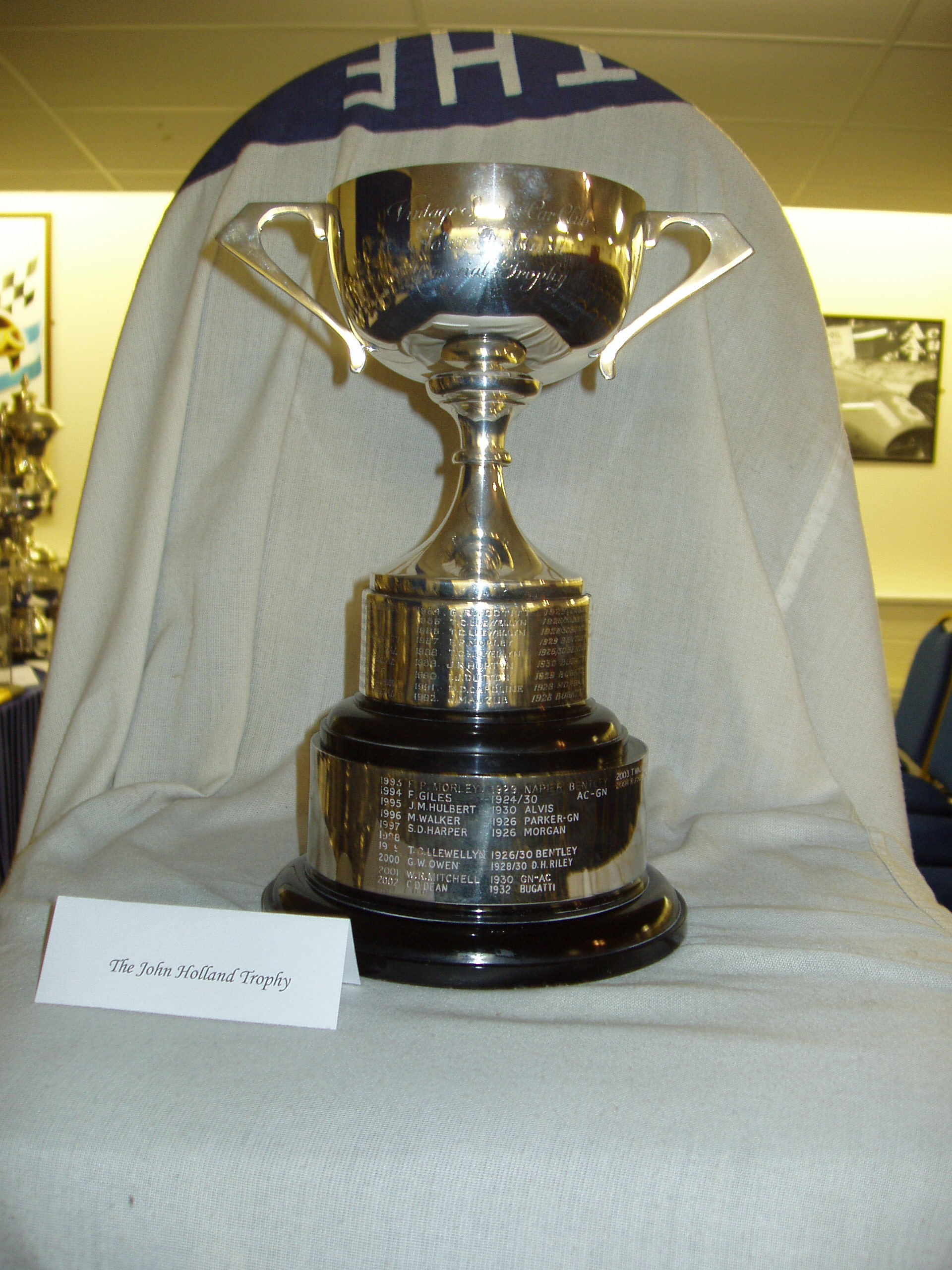 JOHN HOLLAND TROPHY cover