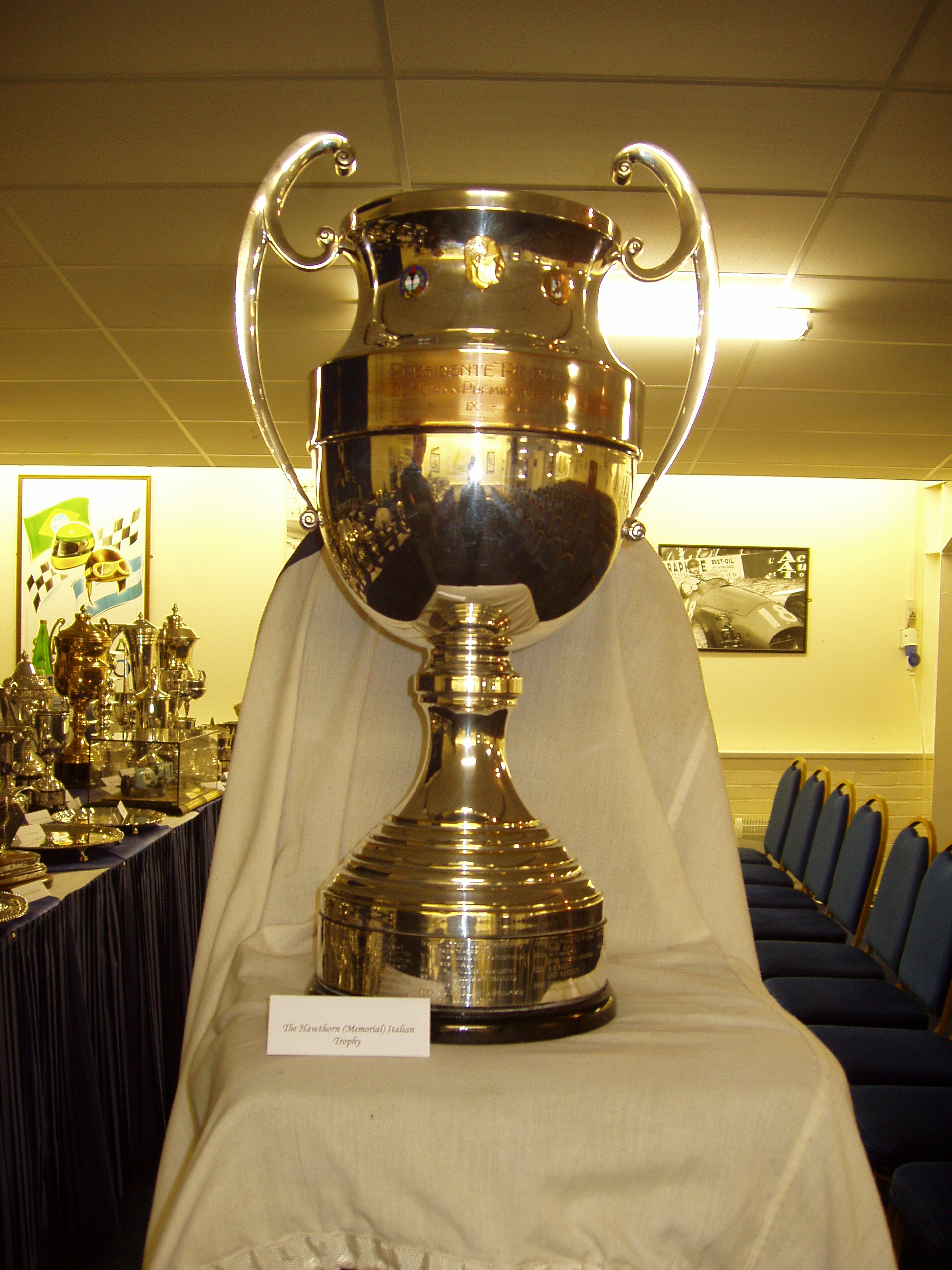 HAWTHORN MEMORIAL TROPHY cover