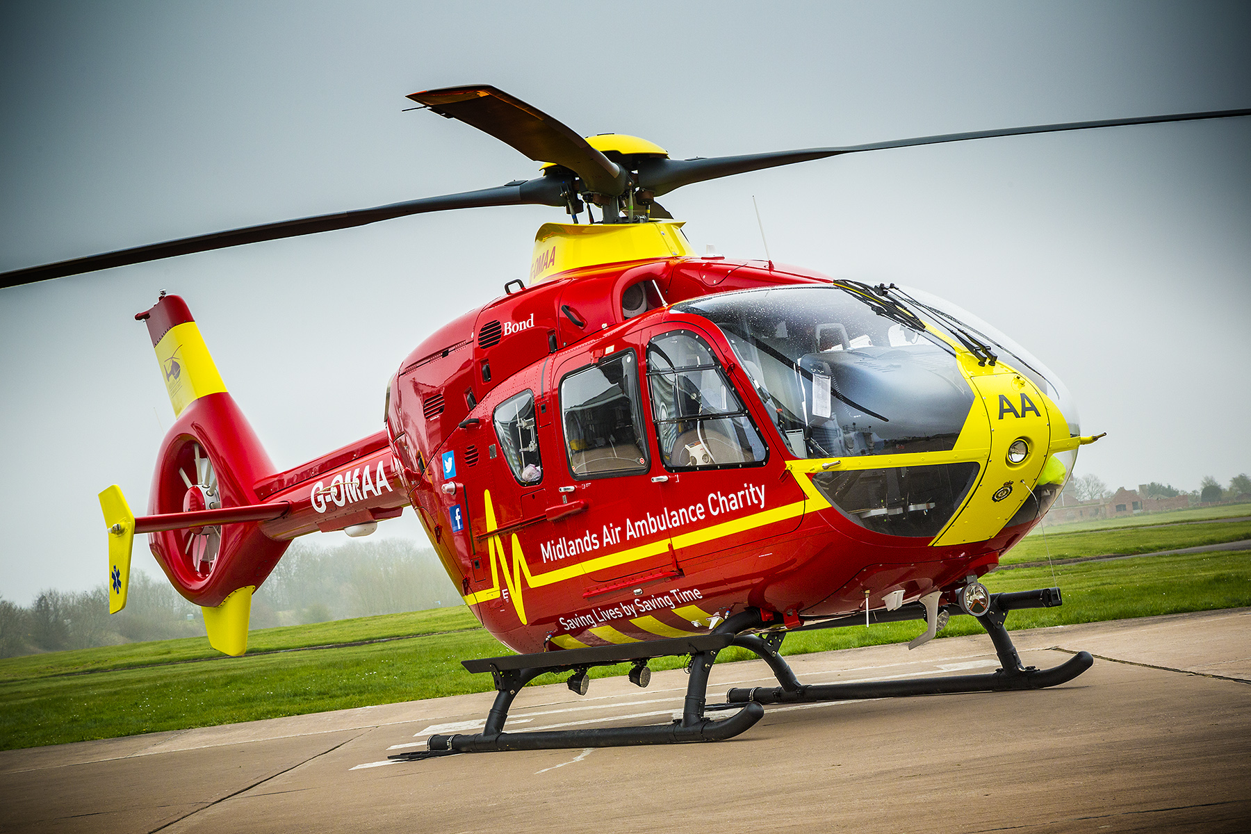 Midlands Air Ambulance the Official Charity of VSCC Prescott cover